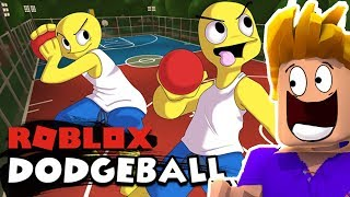 THE BALL IN PRISONNIERS IN ROBLOX DODGEBALL!!
