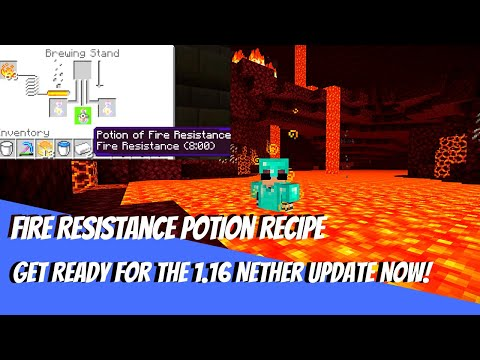 Fire Resistance Potion Recipe - How to Make