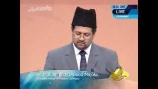 2011-06-05 Die gesellschaftliche Bedeutung der Scharia - Dr. Muhammad Dawood Majoka