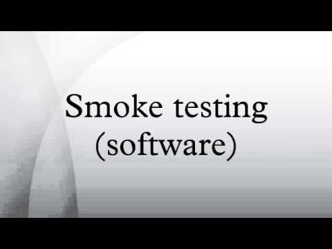 Smoke Testing Software Youtube