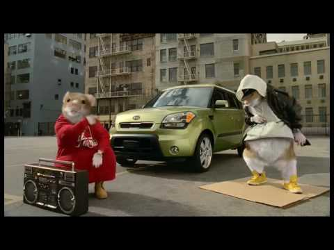 Kia Soul Commercial >> Gangster Hamsters - YouTube