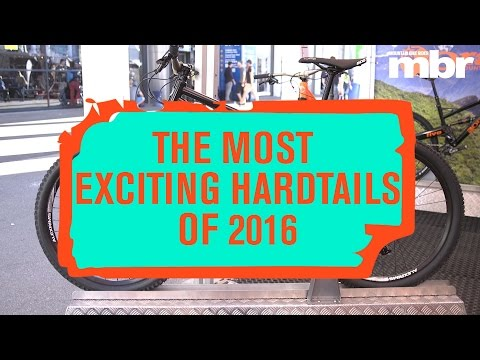 Five of the hottest hardtail mountain bikes for 2016 | MBR