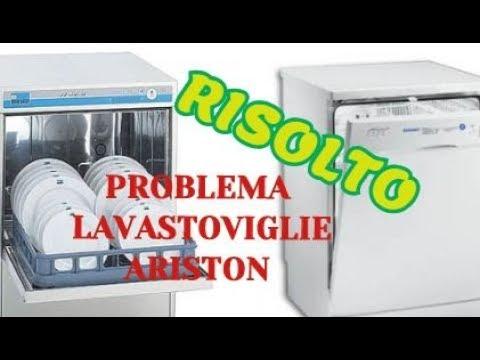 PROBLEMA Lavastoviglie Ariston e SOSTITUZIONE INTERRUTTORE PORTA ...
