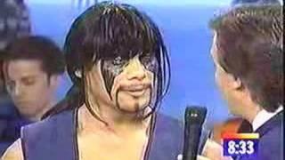 Mortal Kombat :The Live Tour publicity promo on KTLA 5