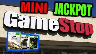 MINI JACKPOT!!! Gamestop Dumpster Dive Night #622