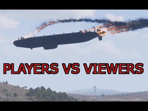 Players vs Viewers: Arma 3 Vanilla Zeus ops