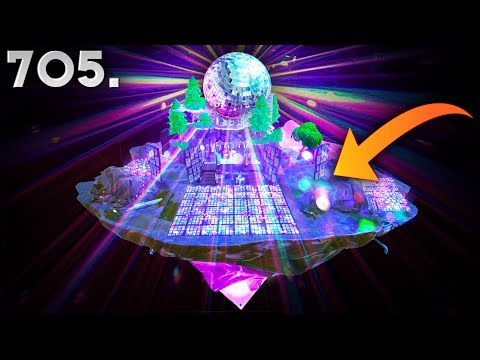 DISCO PARTY ON THE FLOATING ISLAND..!!! Fortnite Funny WTF Fails and Daily Best Moments Ep.705