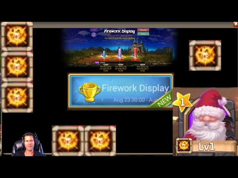 Firework Event On Android Rolling 24k Gems For Heroes Castle Clash