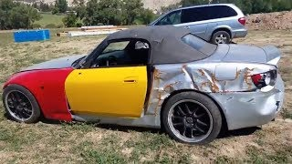 I Bought a REALLY TOTALED Honda s2000 from a Salvage Auction & I'm going to Rebuild It!