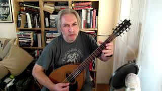 Banish Misfortune (jig) on bouzouki