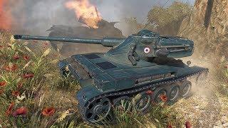 World of Tanks AMX 13 75 13 frags !!! - Steppes