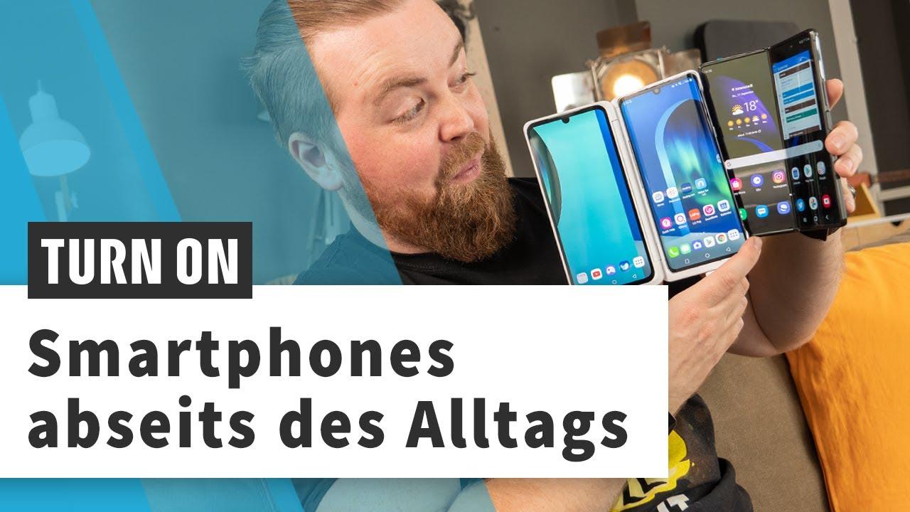 Galaxy Z Fold 2, LG Velvet & Co.: Smartphones mit einem etwas anderen Ansatz