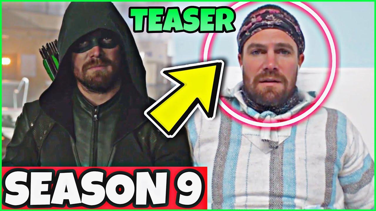 Download Arrow Season 9 TEASER! Stephen Amell Considered an ARROW SEASON 9!