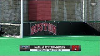 Highlights: Field Hockey vs. Maine 8/31/2018