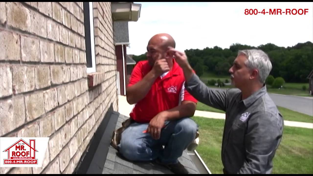 How to Stop a Leaking Bay Window - YouTube