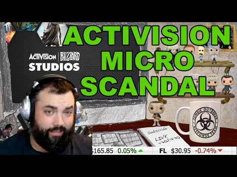 Investing for Gamers ~ACTIVISION MICRO TRANSACTION SCAM?~Investor XP