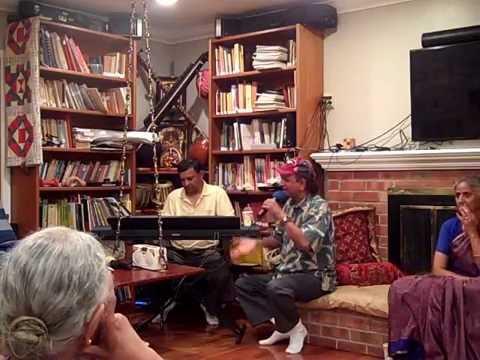 Raju Idury - Siva Stuthi - Party in Palo Alto at Gunupudis welcoming Rayasams