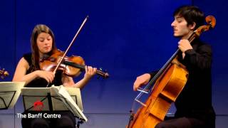 BISQC 2013 - Quatuor Cavatine - Joseph Haydn Quartet in B flat Major