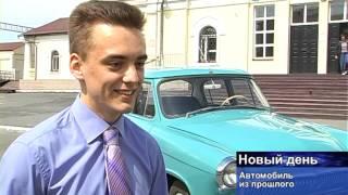 Интервью участника 70-го парада победы в г. Новотроицк, владельца ГАЗ-21 ''Волга''