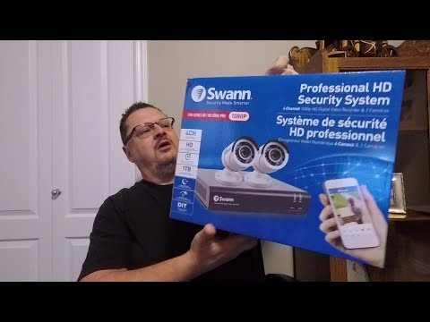 Installing the Swann Pro Series Security Camera System
