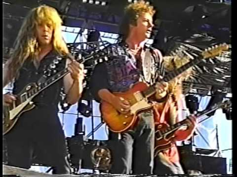 April Wine Interview 1999  Fredericton, NB