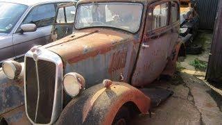 Scrapyard Visit - Rust in peace - 02/10/2012 - Junkyard Abandoned Cars UK