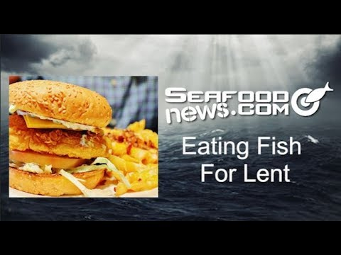 Eating Fish For Lent