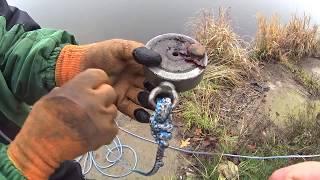 Рыбалка на поисковой магнит в черте города,неожиданные находки  (Дневник рыболова )