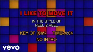 Скачать Reel 2 Real I Like To Move It Karaoke