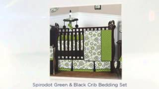 Lime Green Baby Bedding