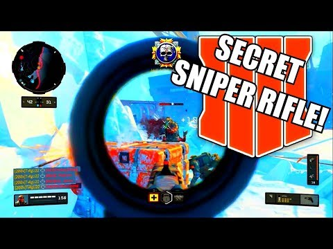 The SECRET SNIPER... 😍😍😍 (no One Knows About) BLACK OPS 4