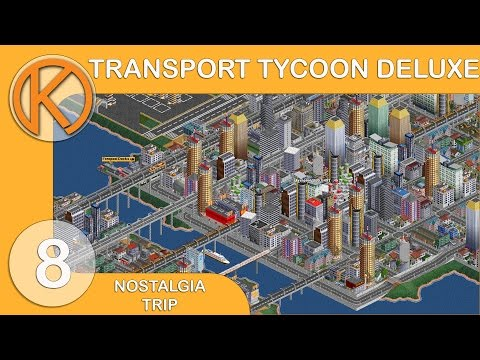 Nostalgia Trip | Transport Tycoon Deluxe [8] - CRAZY TUNNELS | Let's Play OpenTTD Gameplay