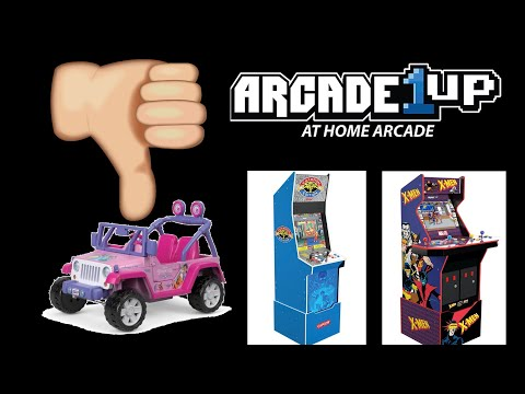 Why I'm done collecting Arcade1UP cabinets!!! from Fight Cave