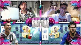 FIFA 19 RONALDO vs MESSI Squad Builder Battle 🔥😱