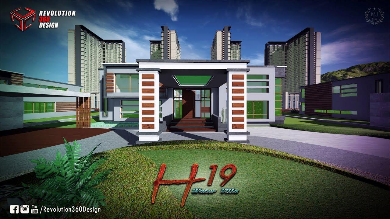Glimpse Of H19 WATER VILLA trailer | 3D Walkthrough ... - photo#33