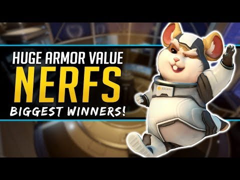 Overwatch Armor NERF Biggest Winners! New System Explained