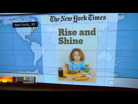 Headlines at 8:30: What kids around the world are eating for breakfast