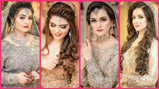 Most beautiful and stylish Pakistani engagement bridal makeup