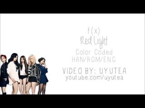 F(x) - Red Light (Color Coded Hangul/Rom/Eng Lyrics)