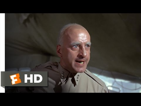 Patton (4/5) Movie CLIP - I Won't Have Cowards in My Army (1970) HD