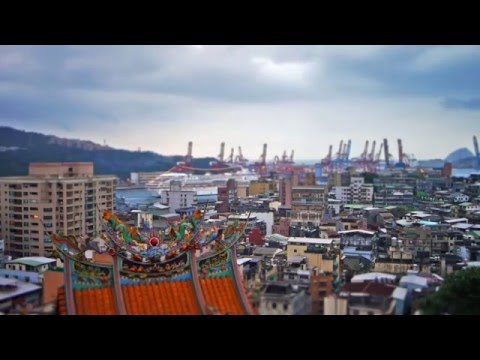 Timelapse at Keelung Harbor