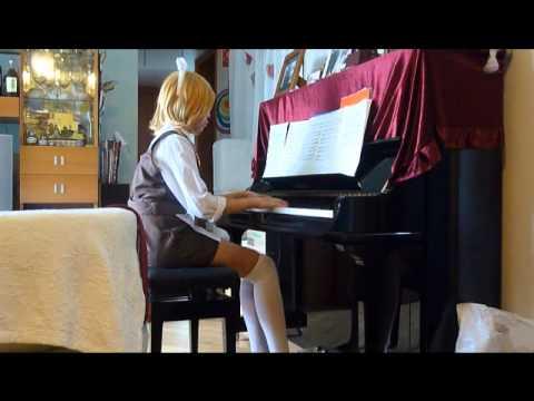 Vocaloid 人柱愛麗絲 Alice Human Sacrifice piano!  Part 2