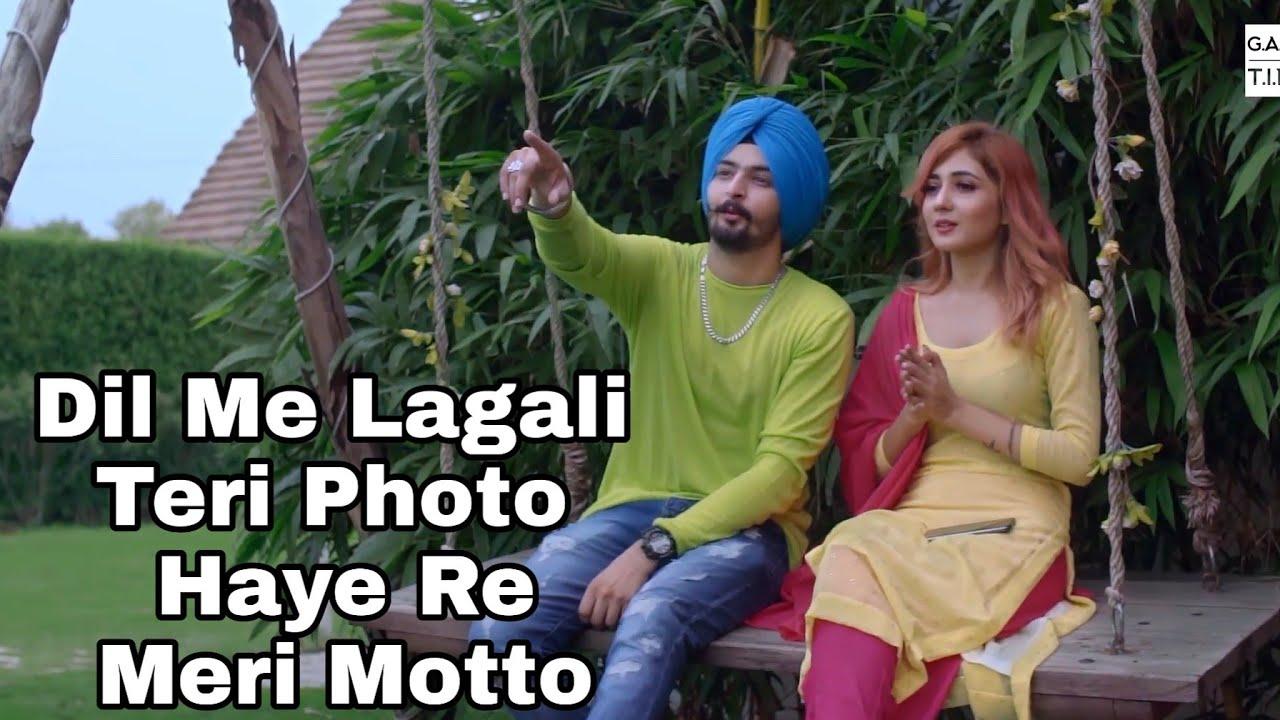 dil me lagali teri photo haye re meri motto full video song   haye re meri motto tiktok  viral song