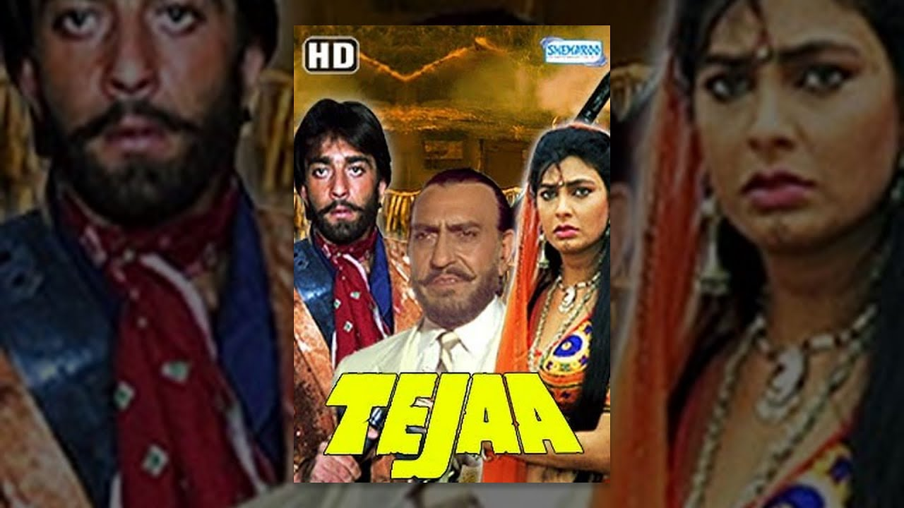 Tejaa (HD) - Hindi Full Movie - Sanjay Dutt, Kimi Katkar - Superhit 90's Hindi Movie (Eng Subti