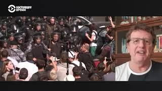 Телеведущий Михаил Ширвиндт – о протестах в Москве