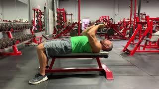 Dumbbell Pullover : Thompson Nutrition Training