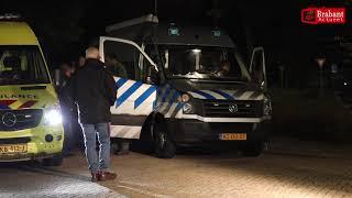 (VIDEO) 01-11-2018 EOD doet onderzoek na plofkraak geldautomaat Oosterhout