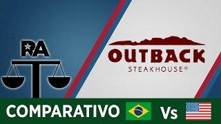 OUTBACK BRASIL Vs ESTADOS UNIDOS - COMPARATIVO RA
