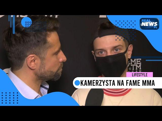 Kamerzysta: Odpowiadam za teksty Kruszwila w disco polo   FAME MMA 5 - II konferencja