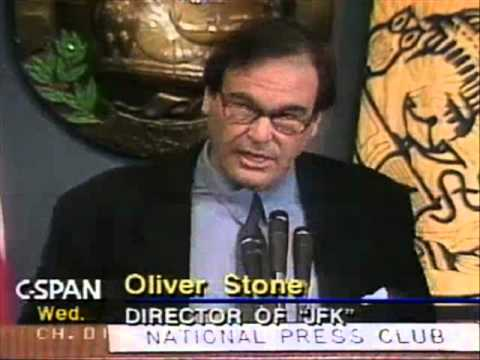 """MOVIE DIRECTOR OLIVER STONE DISCUSSES HIS NEW FILM """"JFK"""" (JANUARY 15, 1992)"""